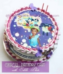 Brithdau Cake With Edible Photos